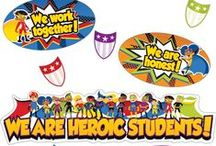 Super Power Classroom / Energize your classroom with the Super Power Super Kids classroom theme! This bold collection creates a motivational learning environment to encourage students to reach their full academic potential!