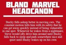 Bland Marvel Headcanon / And Nerdy Facts