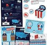 Americana Classroom / Our Americana décor is both functional and fashionable. This collection is not only great for teaching students about our government, the constitution, and the election process, but it is also perfect for celebrating patriotic holidays in style.