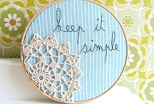 Handmade Nation / All things crafty and cute! / by Brittney Danas