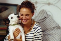 Celebrity Pets / Celebrities and their pets