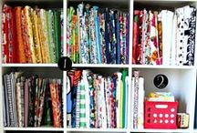 Fabric/Craft Storage