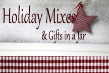 ⊰ℋoℓiđαƴ  ℳixℯs ╰☆╮ Giƒts in α Jαr⊱ / Ready To Make In a Jar For Gift Baskets