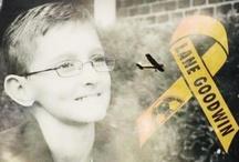 ⊰In ℛℯmℯmbrance of ℒαnℯ Goodwin ♥⊱ / Childhood Cancer Awareness www.lanegoodwin.com www.facebook.com/prayersforlanegoodwin www.thumbsupforlane.org / by ✿ڿڰۣ(̆̃̃ღJu∂y✿ڿڰۣ(̆̃̃ღ ℋainℯs-Ƈαmpbℯℓℓ