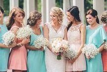 Mint & Peach Wedding / by Camila Cruise