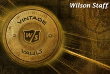 Vintage Vault / The lock on the Wilson Staff Vintage Vault is officially unsealed, and it's open for the world to see.  Become a part of our proud heritage - view a newly established gallery of golf clubs and products that date back to the early 1900's, and commemorate the century-long history that defines the Wilson Staff of today.