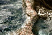 Mermaids and the Sea
