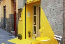 Yellow. /  The Colour Yellow