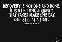 Addiction and Recovery / We do recover....Encouraging and educational pins for addiction recovery of any type, depression, mental illness, chronic illness, trauma, grief, and abuse #sober #recovery
