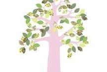 tapetenbäume von inke / tapetenbäume - beeindruckend schöne wandgestaltung nicht nur für das kinderzimmer.