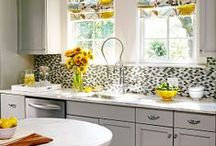 Kitchen:  decorating and organization ideas / by Rose Bonar