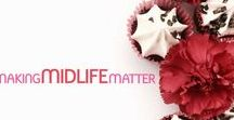 Making Midlife Matter / An online magazine for strong, independent midlife women to share and inspire others to create their own midlife magic! | Create the life you want - one list at a time • Expert articles on style & beauty, relationships, money, home, food & drink, travel | MakingMidlifeMatter.com