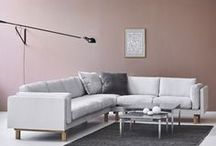 Living room / Find inspiration for your new sofa, lounge chair or coffee table.