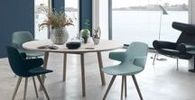 Dining room ideas / Get inspired on how to create the perfect dining room set-up using furniture from Erik Joergensen.