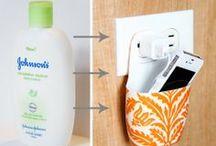 Reciclar / Ejemplos de trabajos reciclados.