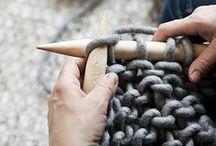 Tejer - Knit / Técnicas para tejer e ideas de trabajos a realizar.