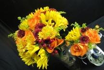 Fall wedding flowers - Sep, Oct, Nov / Wedding flower Designs  By Flowergirls Weddings Tulsa, OK. 918-949-1553 www.flowergirlsoftulsa.com