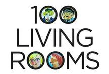 100 Living Rooms / An evening of art, music and cocktails to benefit HAI! Purchase a ticket and you are guaranteed to go home with a piece of original art from HAI's Archive of Outsider Art. HAI's Archive of Outsider Art includes thousands of paintings and drawings by mentally ill individuals who participated  in HAI Arts Workshops.  The artists represented below were institutionalized for decades, and had been released into adult homes where HAI Artists were introduced to them.