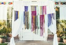 party {backdrops} / by One Stylish Party