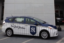 The Official Hybrid Vehicle of the New York Yankees