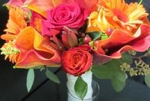 orange wedding flowers / Flowergirls Weddings 58th & Lewis Tulsa, Ok 918-949-1553 www.flowergirlsoftulsa.com