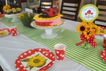 real party {little ladybug} / by One Stylish Party