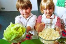 Cooking With Your Kids / Recipes and ideas to cook with your toddlers and young children, while having tons of fun.  / by Gryffin
