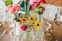 party style {wild flowers} / by One Stylish Party