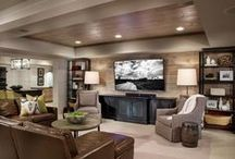 home {basement inspiration} / by One Stylish Party