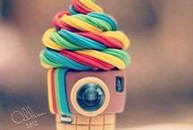 Ice Cream / funky ice cream