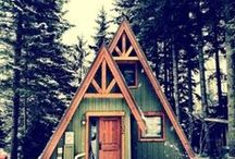 A-frames and Cabins