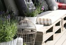 What to do with a pallet / New ways to use old pallets
