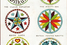 PA Dutch/Mennonite/Amish quilts & hex signs