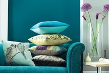 Get the Tranquil Look / Tranquil Living is a calming look inspired by nature in a neutral setting accented with lavenders, teals and greys. / by Tesco