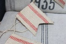 What to do with Jute & Burlap / Ideas and inspiration for what to do with jute and burlap