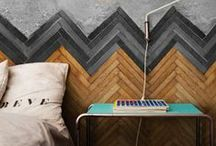 Chevron and Herringbone Love / I love a good chevron or herringbone pattern.  I think the patterns are iconic, bold and will never go out of style. / by Makely