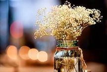 Reception Table Decor / Cute ideas for wedding reception tables and decorations. From centerpieces to champagne flutes to the tiniest gorgeous details, we pull together our favorites from across the web! / by American Bridal