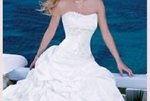 Wedding Dresses / Put your face on various dresses to help you shop for a wedding dress. It's fun to dream, too! You can click on any of these images to use the imikimi editor to add your face. See how your skin tone looks with various shades and styles of dresses. We've tried to add a good variety of bridal styles.