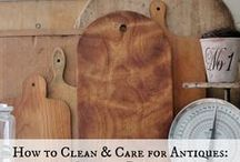 Caring For & Revamping Your Vintage Finds / Informational pins about caring for and improving your vintage finds (cleaning, refinishing, painting, repairing, etc.)