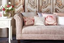 TREND: Vintage Glamour | Tesco / Add a touch of retro glamour to your home with pretty florals, luxurious fabrics and vintage styling / by Tesco