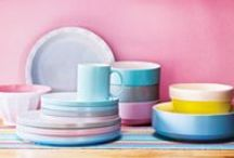 TREND: Pastels | Tesco / Brighten up your home with happy summer colours - aqua blues, raspberry pinks, lovely lilacs and sunny yellows / by Tesco