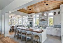 Beachy Kitchens / Beachy kitchen ideas for Karen & Danny's river house remodel.