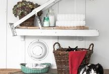 laundry room Inspiration / Ideas and inspiration for laundry room spaces