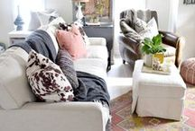 Living Room Inspiration / Ideas and inspiration for living room spaces