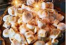 Bonfire Night Ideas | Tesco / Toffee apples at the ready! Our Bonfire Night board is full of the best dishes to enjoy on November 5th, from salted caramel hot chocolate to pulled pork stew.