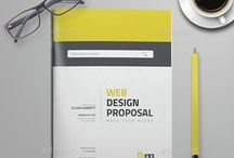 Best Brochure Designs / High quality brochure designs that is really very handy when it comes to multi page design templates.