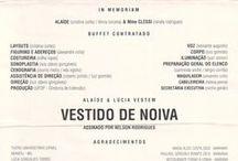 1995 - Vestido de Noiva / Criação e execução de cenografia e adereços por Murilo Pagani.