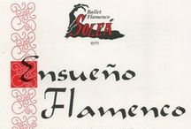 1997 - Ensueño Flamenco / Criação e execução de cenografia e adereços por Murilo Pagani.