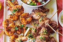 BBQ Ideas & Recipes | Tesco / Check out our collection of mouthwatering BBQ recipes, including around-the-world marinades, vegan and vegetarian burgers and even imaginative sides and desserts.