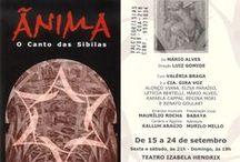 2000 - Ânima - o canto das Sibilas / Criação de adereços cênicos por Murilo Pagani.